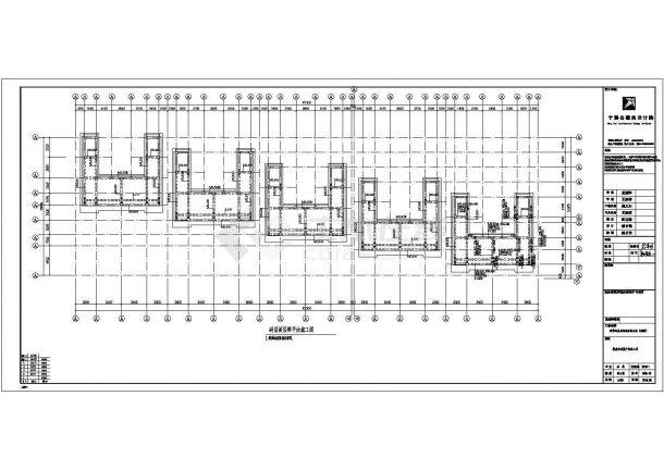 某地上五层剪力墙结构住宅楼设计cad详细结构施工图(含设计说明)-图一