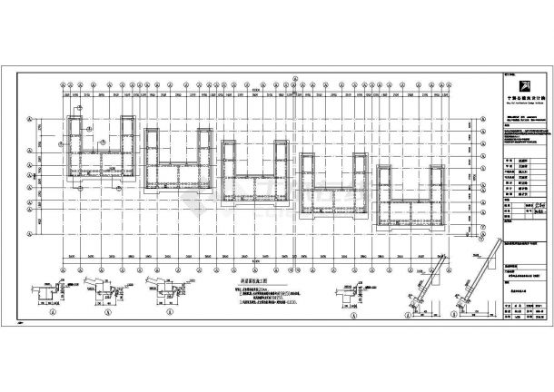 某地上五层剪力墙结构住宅楼设计cad详细结构施工图(含设计说明)-图二