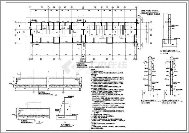 某18层纯剪力墙结构住宅楼设计cad全套结构施工图纸(含设计说明,含计算书,含施工组织设计)-图二