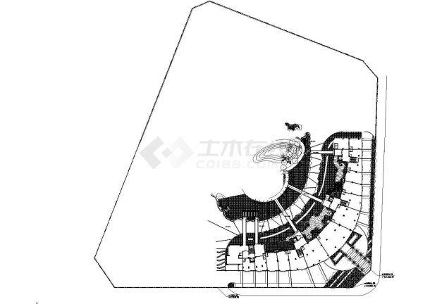 【深圳】花园小区园林景观工程全套施工CAD-图二