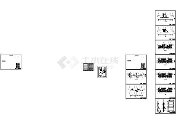 某十四层商住楼暖通施工图CAD-图一