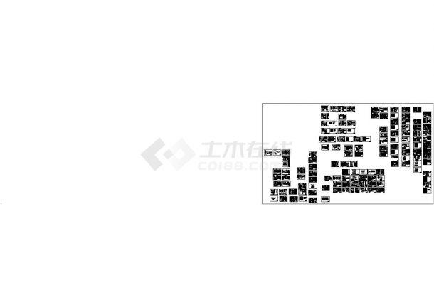 经典工厂常用设备设计cad电气控制原理图(甲级院设计,种类齐全,137张图)-图二