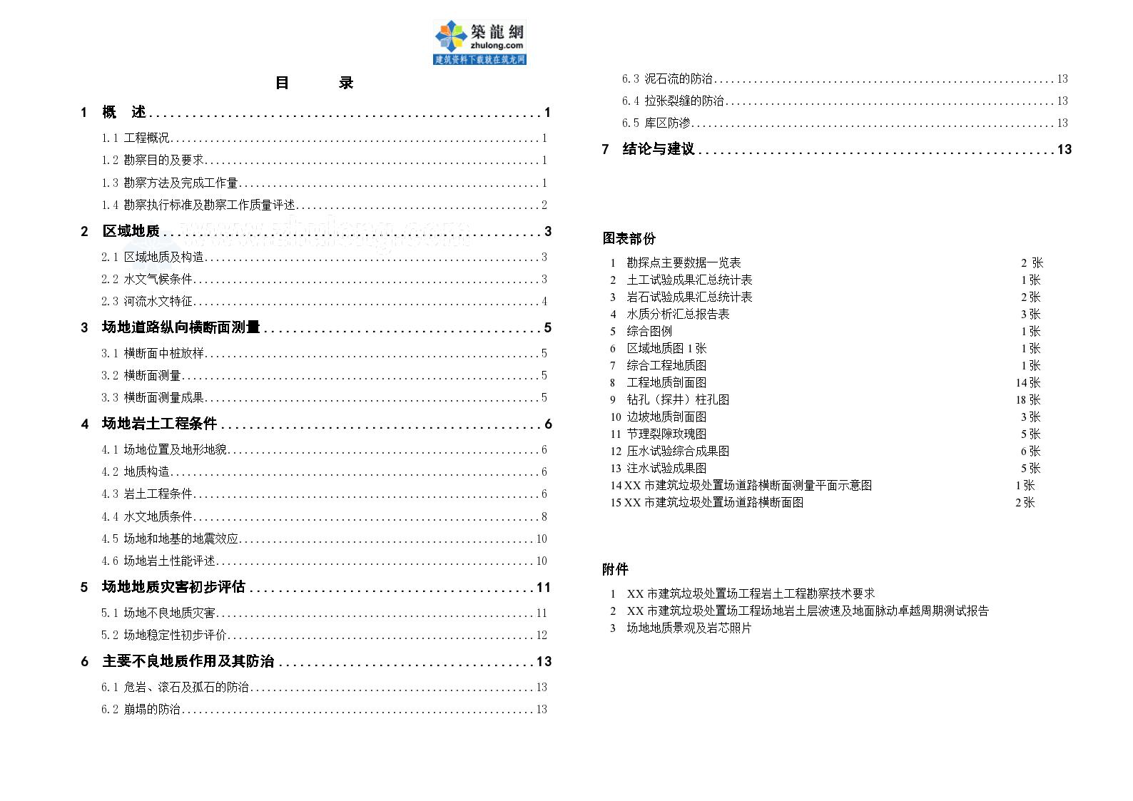 上海市建筑垃圾处置场工程初勘报告书-图一