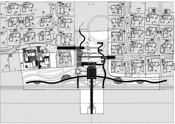 [三亚]住宅小区样板区园林景观工程施工图(二期),含 施工设计说明-图二