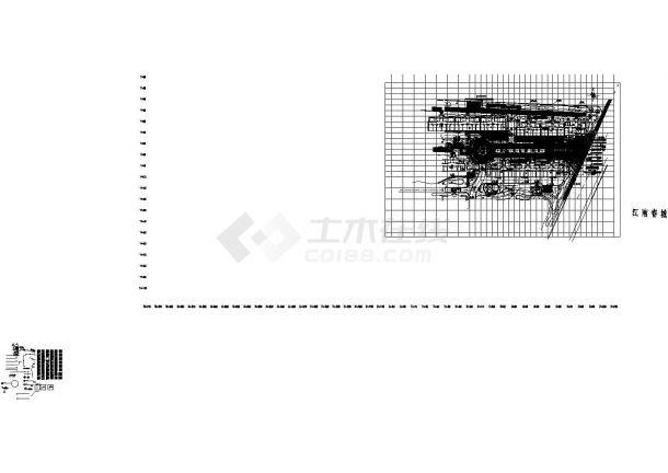 [桐乡]居住区入口景观设计施工图CAD-图二