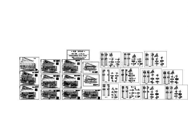 某地框架结构办公楼结构设计施工图纸-图一