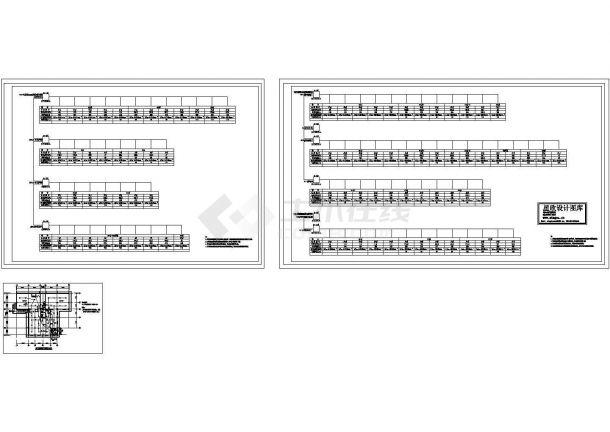 临沂市某市政单位总电力接线设计CAD施工图-图一