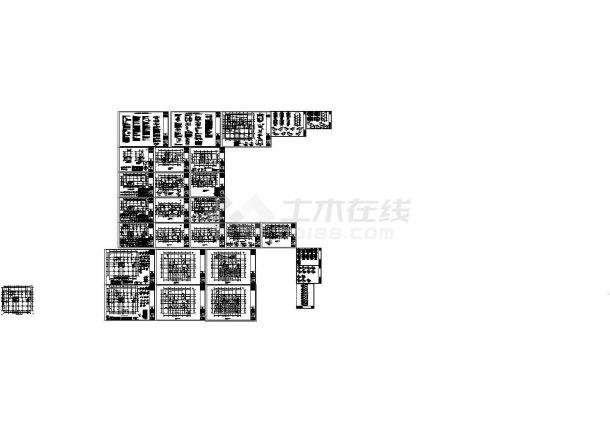 某高层住宅结构设计cad全套施工图(含设计说明)-图二
