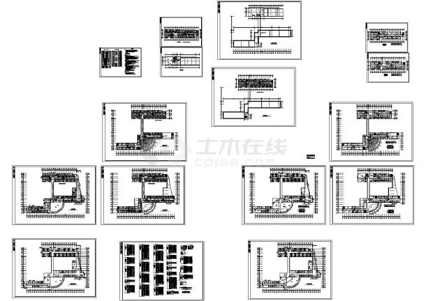某六层医院电气施工cad图(含照明设计图,共十六张)-图二