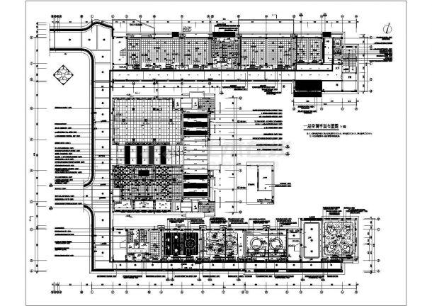 小学体育后勤楼 教学楼 综合楼(装修电气施工图)-图一