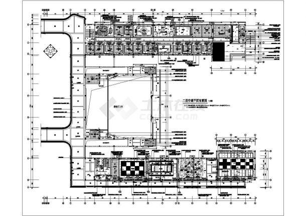 小学体育后勤楼 教学楼 综合楼(装修电气施工图)-图二