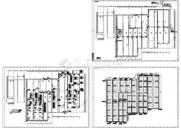 广州某小型电子厂厂房配电系统设计CAD施工图-图一