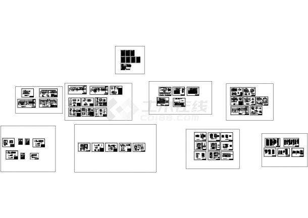云南某35KV总降压站设计cad全套电气施工图纸(含设计说明)-图一