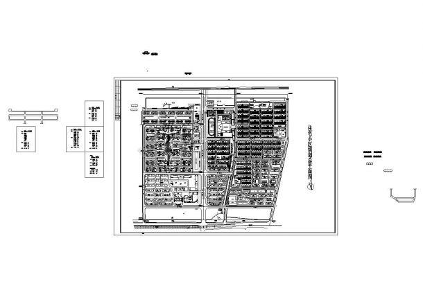 某十一层短肢剪力墙安置住宅全套设计图CAD-图一