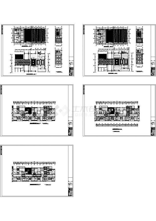 四川某三甲医院智能照明系统施工CAD全套图纸-图一