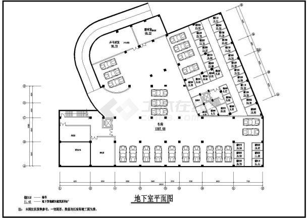 时代广场全套建筑设计方案图纸-图二