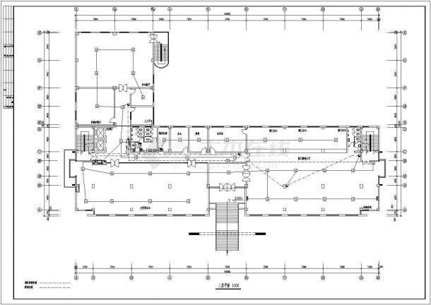 五层办公楼电气设计方案图(含设计说明)-图一