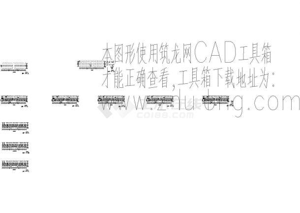 土木工程毕业设计_办公楼设计_土木工程毕业设计_某5层4487办公楼全套设计(含计算书及图纸)CAD图纸-图二