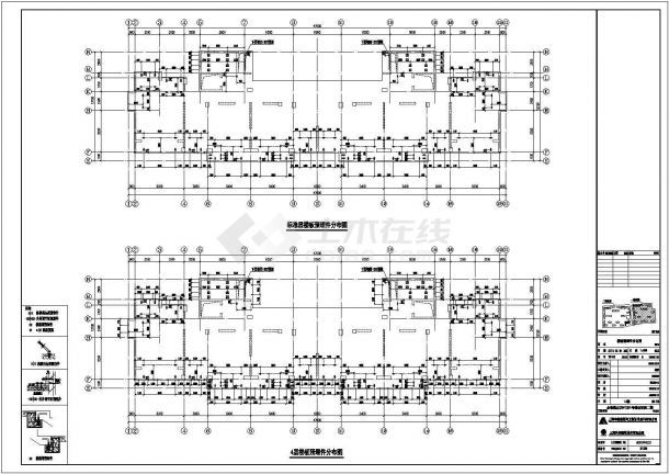 某小区装配式建筑、结构设计图纸(含设计说明)-图二