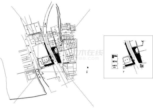 村庄综合整治工程(入口景观设计)--电气-图一