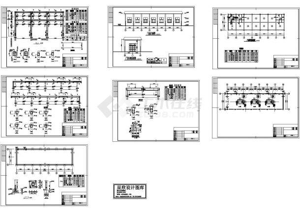 电站、变电所电气及设备10CAD图纸-图一