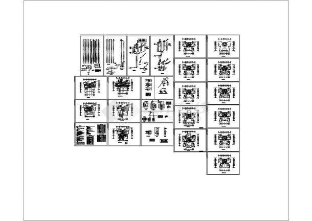河南某高层住宅给排水及消防全套设计CAD图纸设计.dwg-图一