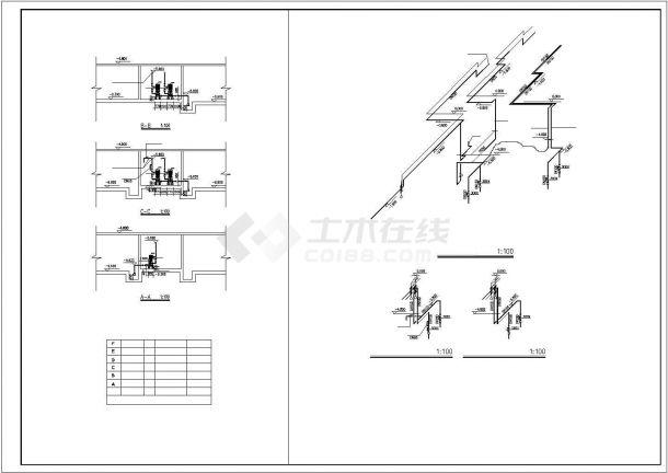 河南某高层住宅给排水及消防全套设计CAD图纸设计.dwg-图二