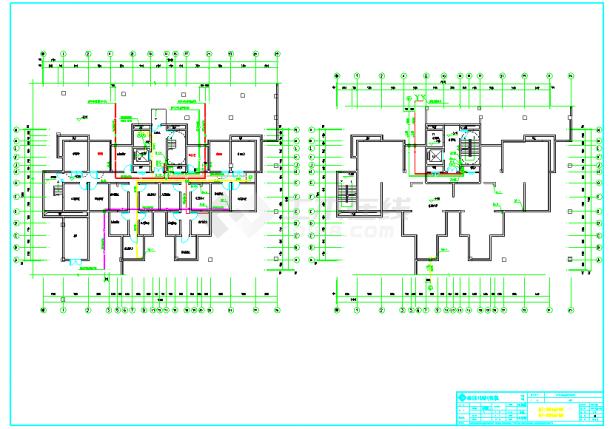 某高层住宅小区给排水施工设计图-图一