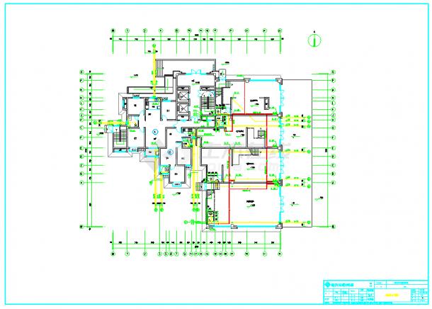 某高层住宅小区给排水施工设计图-图二