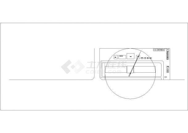 某现浇钢筋混凝土框架结构多层工业厂房毕业设计cad模板图(含任务书)-图一