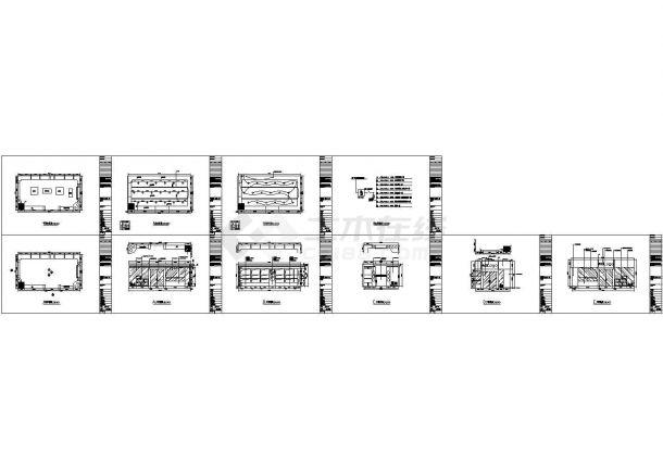 某专卖店装饰CAD施工图-图二