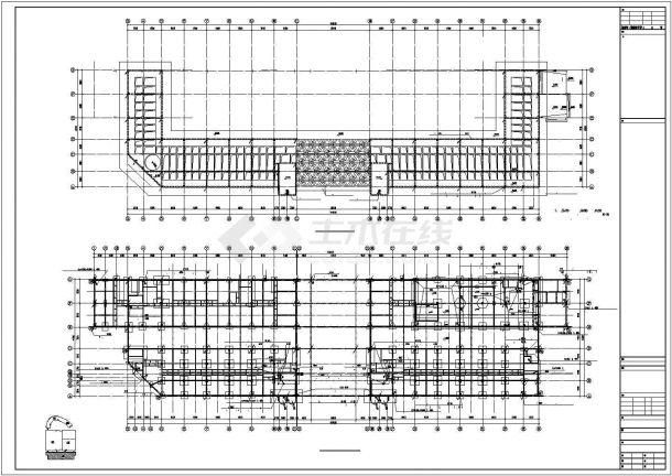九层高综合大楼电气照明设计方案CAD图纸-图二