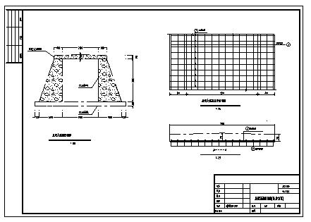 地涵洞及防洪堤设计_某地涵洞及防洪堤设计cad图纸-图二