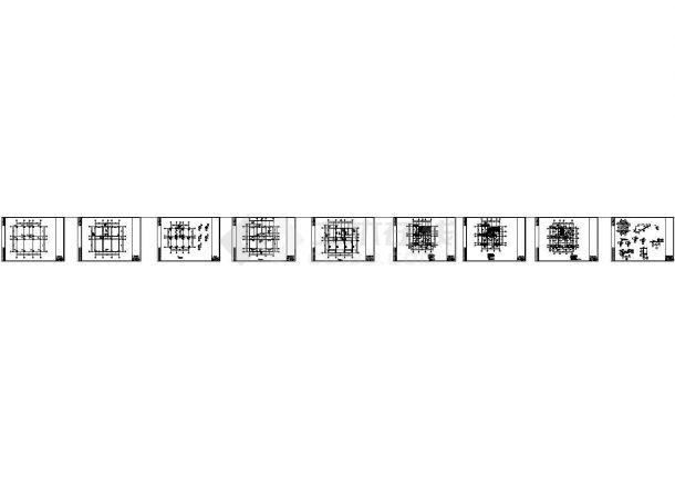 [四川]4层私人住宅框架结构施工图-图一