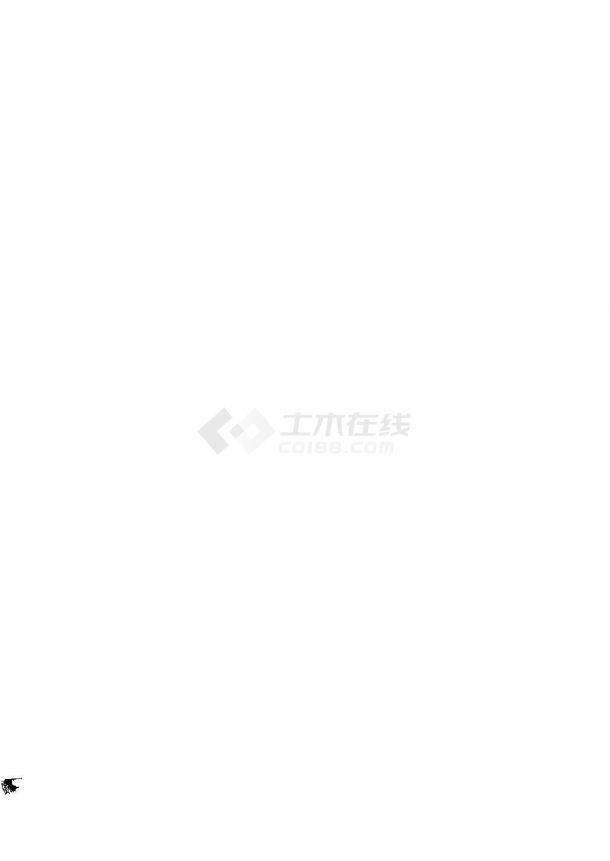 南京临湖小区园林景观工程全套施工图,含设计说明-图一