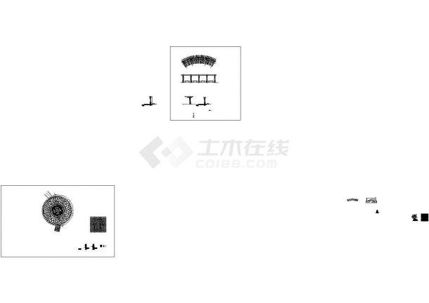 [深圳]小区园林景观工程施工图,含硬质景观设计说明-图二
