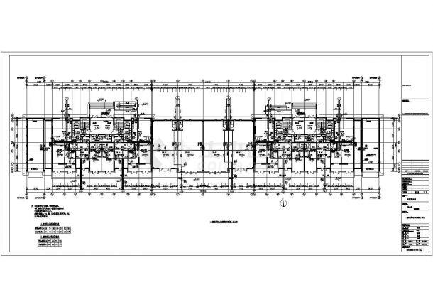某高层住宅小区给排水图纸,dwg,标注详细-图二