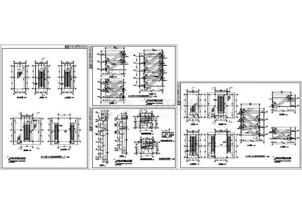 上海三菱自动扶梯装修设计cad大样施工图纸(甲级院设计)-图一