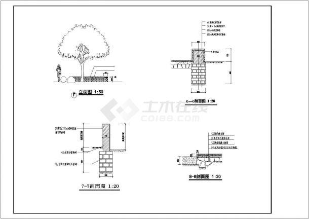 北京某居住区内部儿童乐园景观设计CAD图纸-图一
