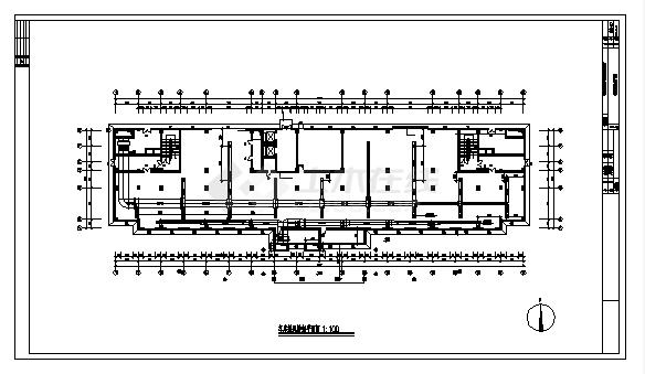 土木工程毕业设计_办公楼设计_8100平方米宁波某九层办公楼中央空调系统设计cad图(含毕业设计)-图一
