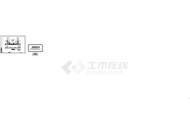 重庆市某1.2公里市政道路排水施工全套设计CAD图纸-图一