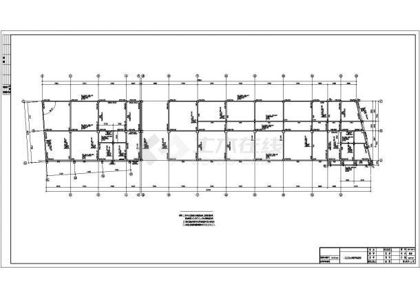 5047.749平方米四层框架完整办公楼毕业设计(招标文件、清单、CAD图纸22张)-图一