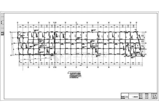 5047.749平方米四层框架完整办公楼毕业设计(招标文件、清单、CAD图纸22张)-图二