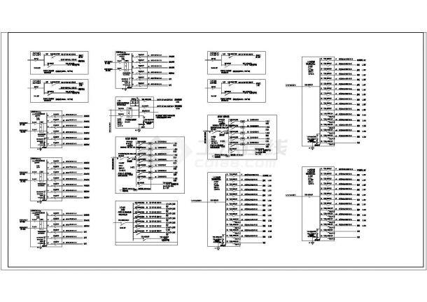 厂房设计_某厂区一大型电子厂房电气设计图纸-图一