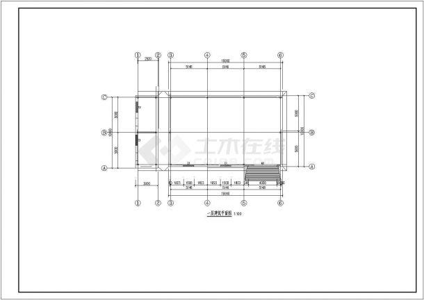 典型火灾自动报警及消防联动控制系统CAD施工平面图( 含设计说明)-图二