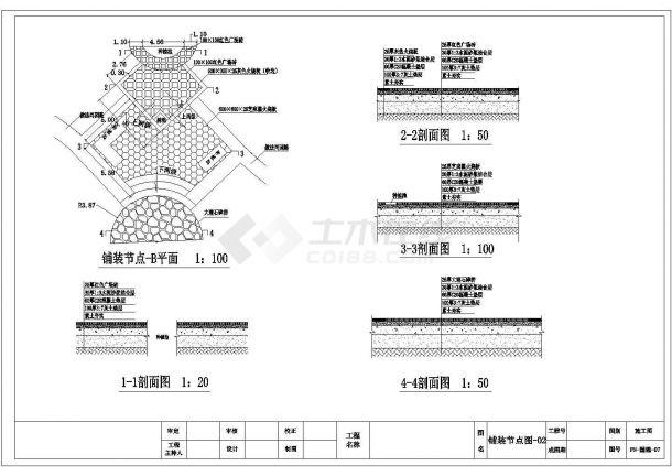唐山市某大型湿度公园园林景观设计CAD图纸-图一