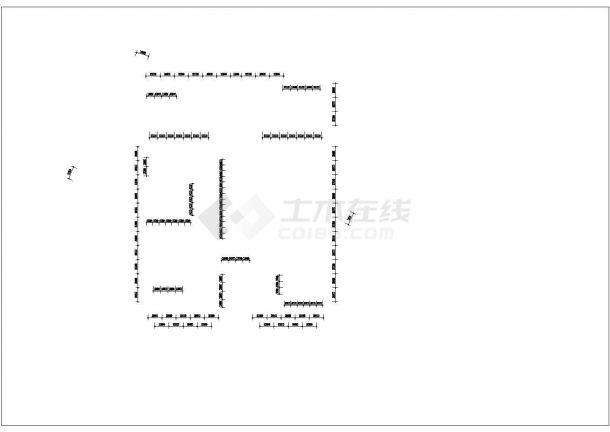 河北省中央党校全套景观设计施工图-灯具总平面图-图一