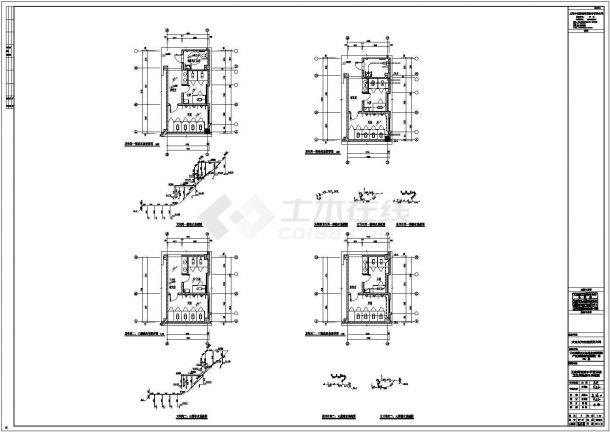 赣州水施设计CAD大样构造节点图-图二
