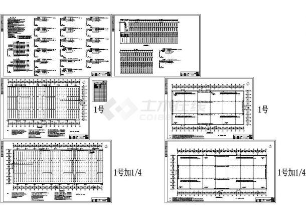 某家具厂房电气施工图设计cad图-图一