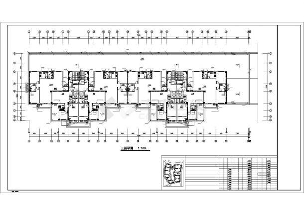 [内蒙]高层商住楼给排水消防施工图(直饮水系统)cad图纸-图二